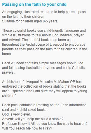 pass on faith books info